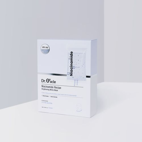 Niacinamide Recipe Brightening Mask (10, 1box)