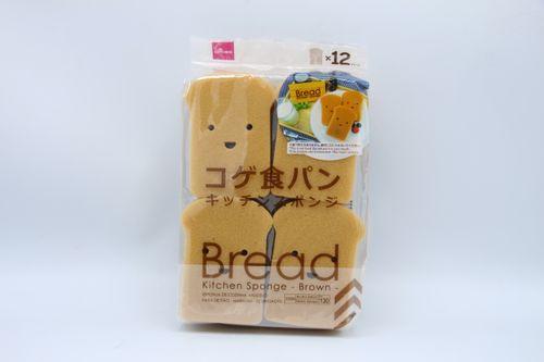 Талх хэлбэрийн аяга таваг угаагч спонж 12ш