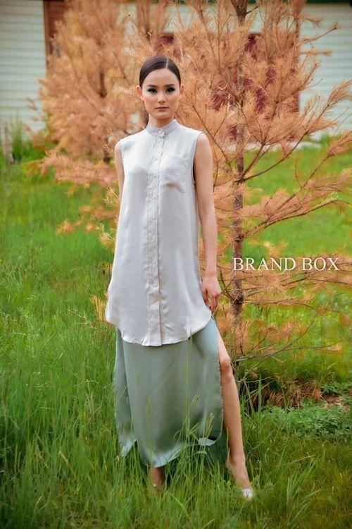 H&M silken dress
