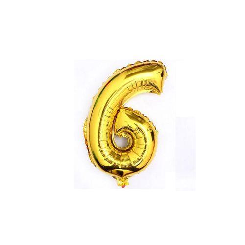 Төрсөн өдрийн чимэглэл - 6 тоо