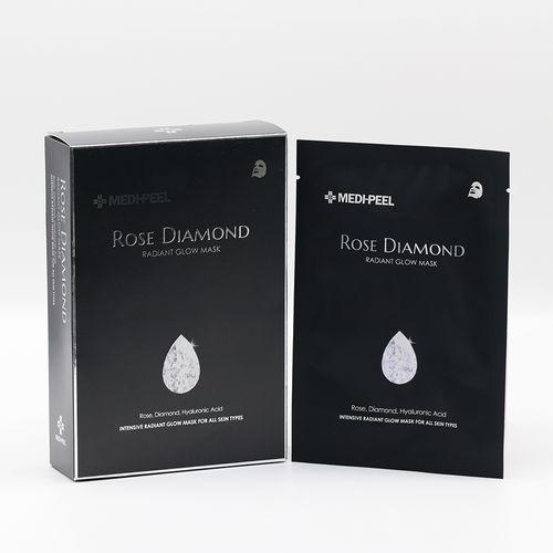 ROSE DIAMOND RADIANT GLOW MASK SHEET
