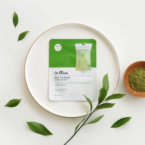 Green Tea Recipe Calming Green Mask (10매, 1box)