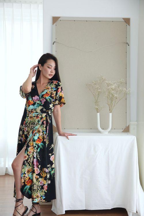 Kimono Dress Black