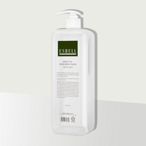 ESBELL Green Tea Refreshing Toner (1,000ml)