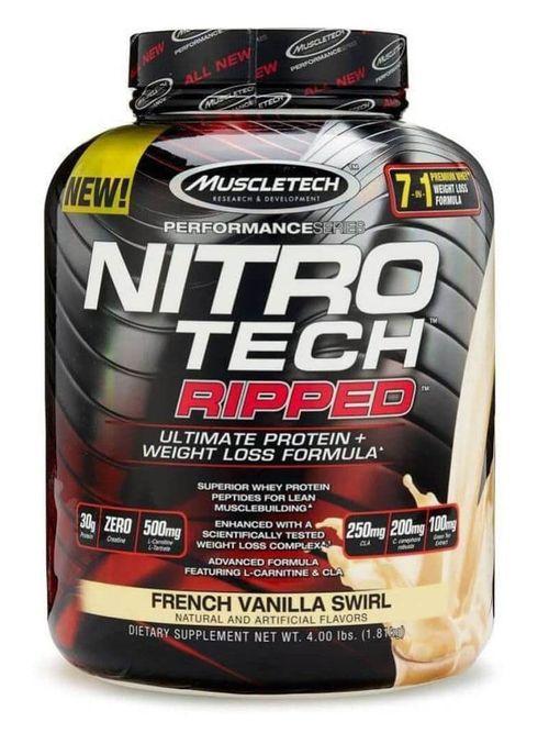 Nitrotech Ripped- өөх шатаагчтай булчингийн массны уураг