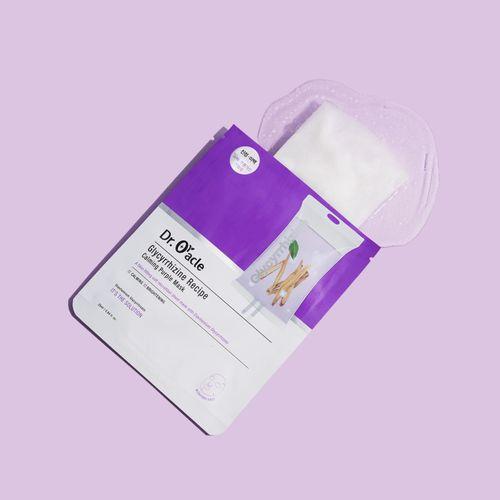 Glycyrrhizine Pecipe Calming Purple Mask 1ea