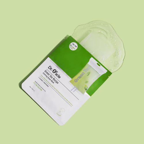 Green Tea Recipe Calming Green Mask 1ea