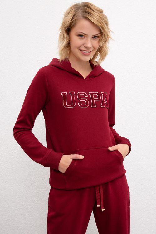 U.S Polo Эмэгтэй малгайтай цамц