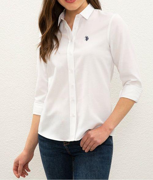 U.S Polo эмэгтэй цагаан цамц